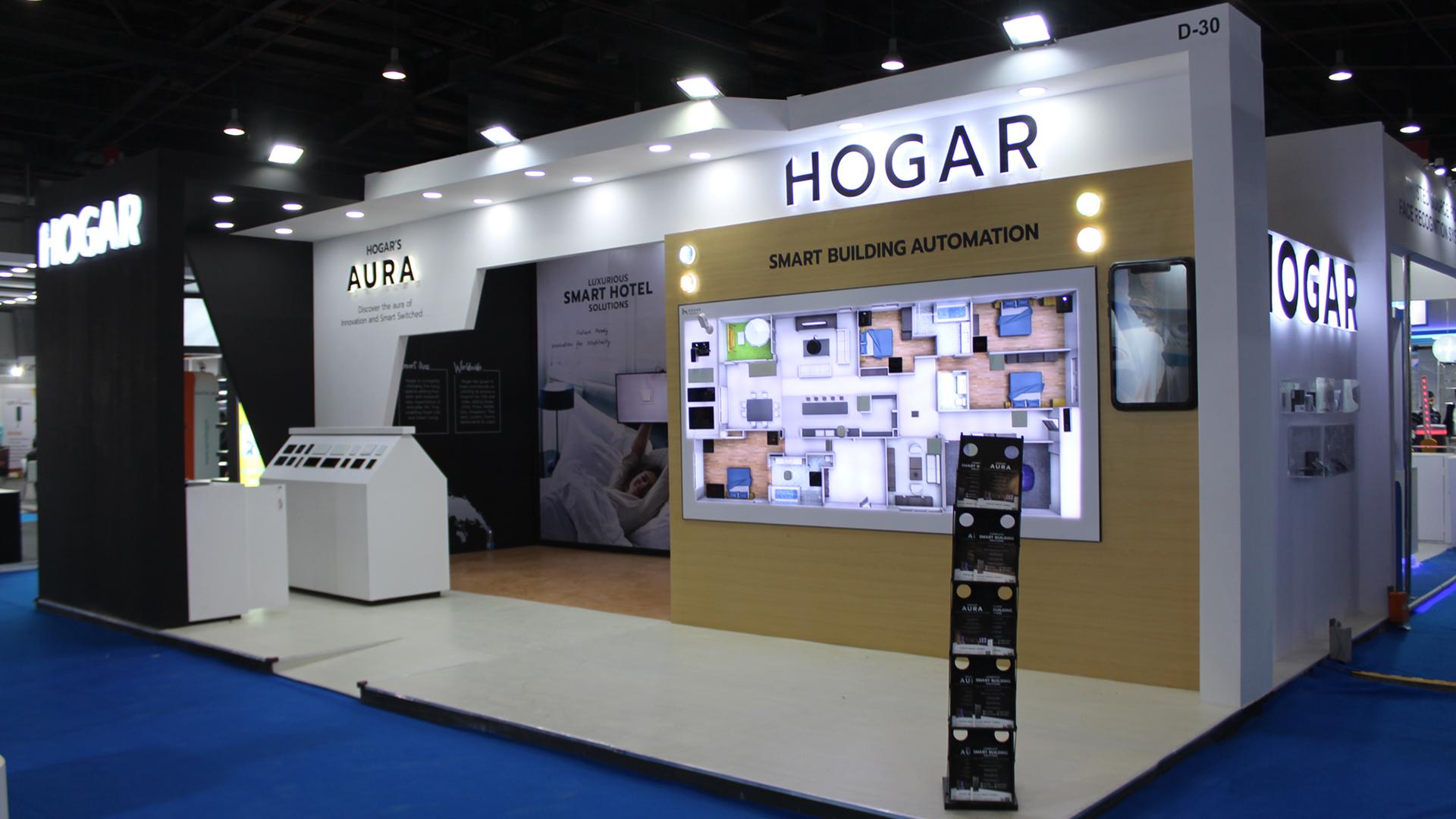 Day 1: Hogar at IFSEC India 2019